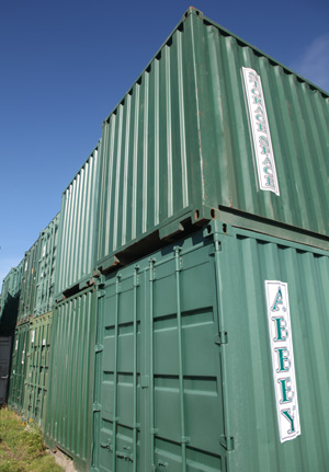 Abbey Services Storage Containers